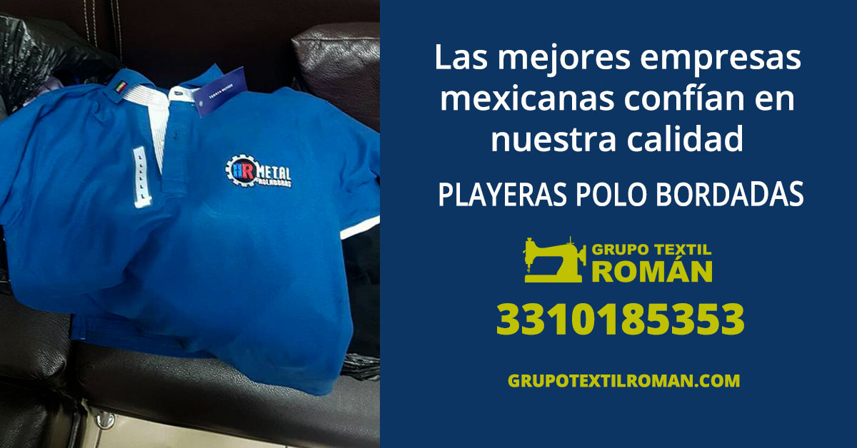 playeras polo bordadas guadalajara