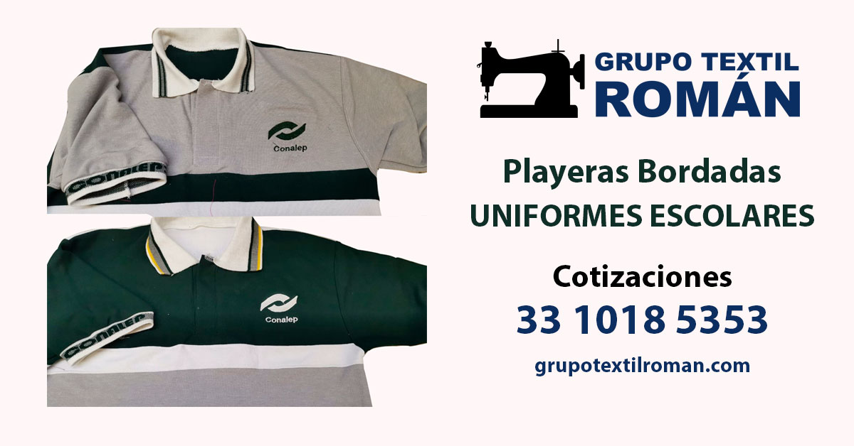 playeras bordadas